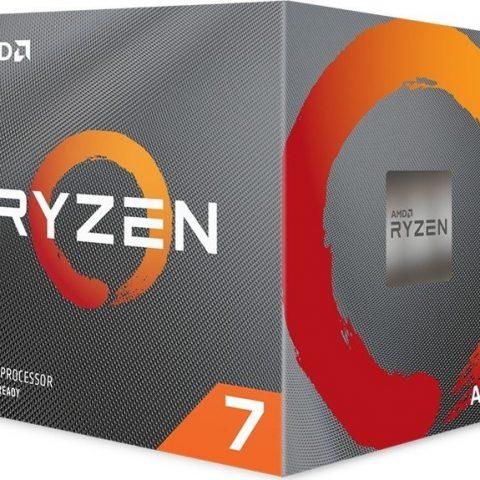 AMD Ryzen 7 3800XT 8核16线程 3.9-4.7GHz