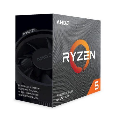 AMD Ryzen 5 3600XT 6核12线程 3.8-4.5GHz