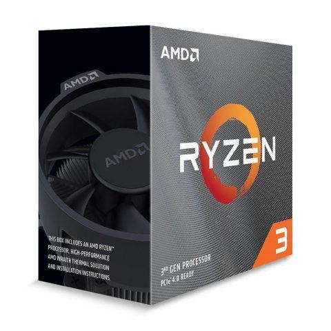 AMD Ryzen 3 3300X  4核8线程 3.8-4.3GHz