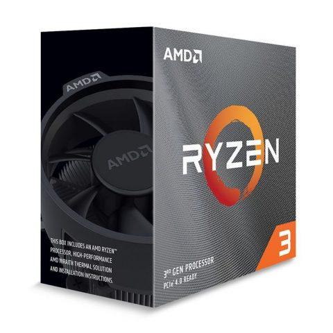 AMD Ryzen 3 3100 4核8线程 3.6-3.9GHz