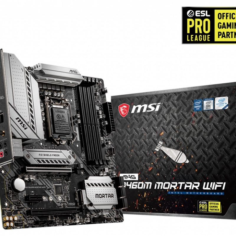 微星 MSI B460M MORTAR WIFI mATX 主板