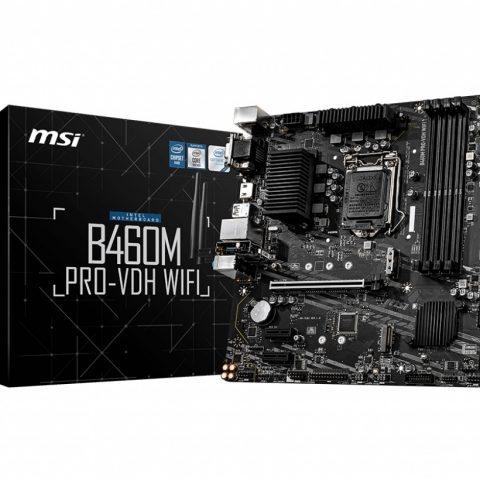 微星 MSI B460M PRO-VDH WIFI mATX 主板