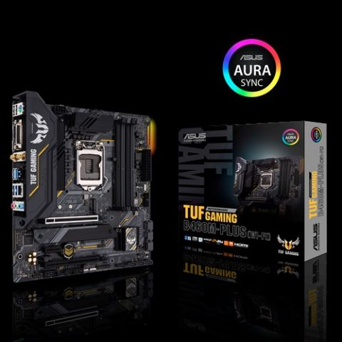 华硕 ASUS TUF GAMING B460M-PLUS mATX 主板