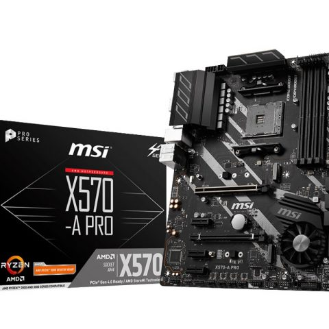 微星 MSI X570-A PRO AM4 ATX主板 ATX主板