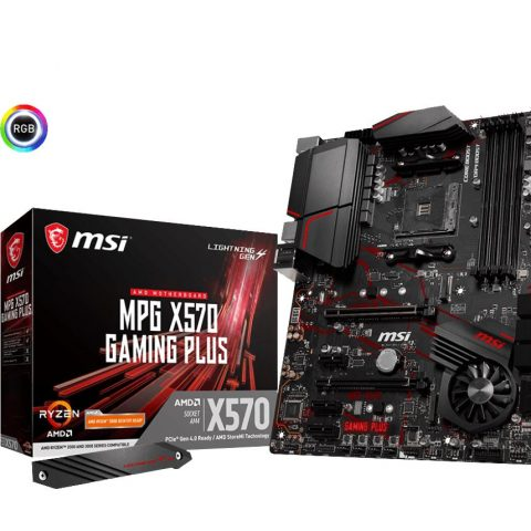 微星 MSI MPG X570 GAMING PLUS ATX主板 ATX主板