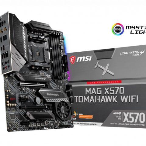 微星 MSI MAG X570 TOMAHAWK WIFI ATX主板
