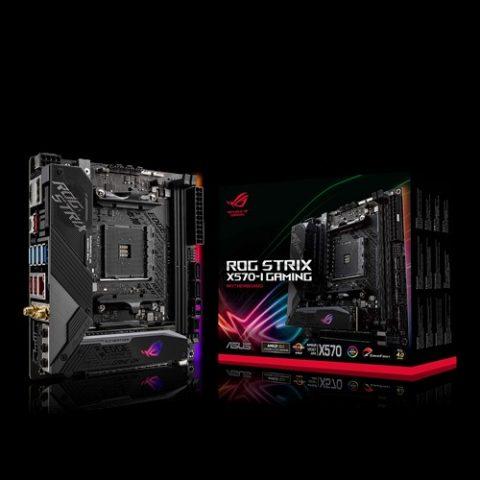 华硕 ASUS ROG 玩家国度 STRIX X570-I GAMING ITX主板