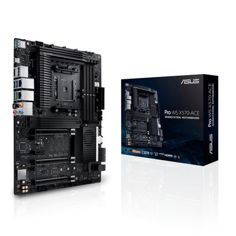 华硕 ASUS WS AMD AM4 X570 ATX 工作站主板