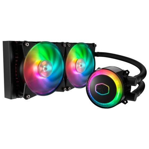 酷冷至尊 冰神240 ML240R ARGB CPU水冷散热器