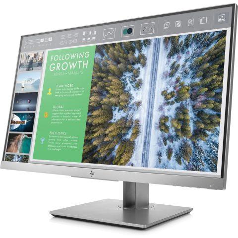 "HP EliteDisplay E243 (1FH47AA) 23.8"" IPS 16:9 1920x1080 5MS 5M:1 VGA DP HDMI 3xUSB Tilt+Swivel+Pivot H-ADJ 3YR Warranty"