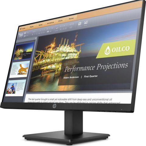 "HP ProDisplay P224 (5QG34AA) 21.5"" 16:9 1920x1080 60Hz 5MS 10M DP HDMI Tilt+Swivel 3YR Warranty"