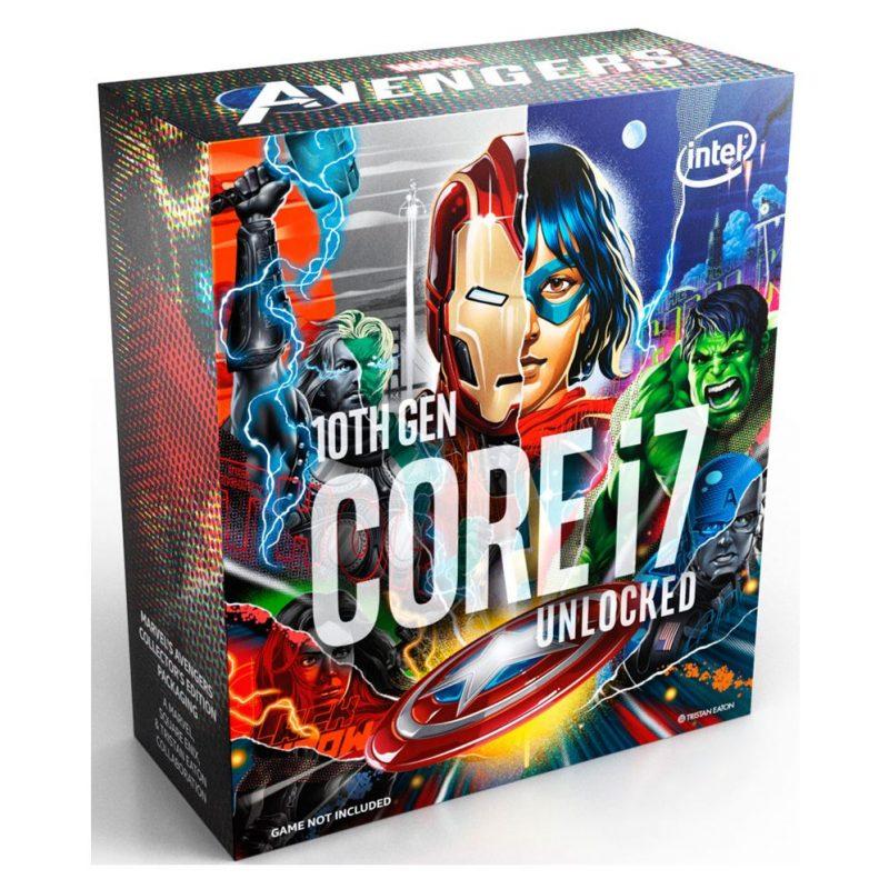 英特尔 Intel 酷睿i7-10700K Avengers 复仇者联盟CPU 8核16线程 10代i7