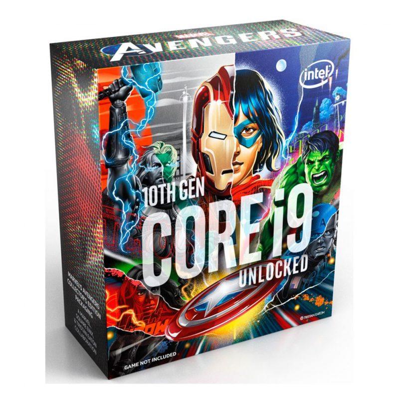 英特尔 Intel 酷睿i9-10850K Avengers 复仇者联盟CPU 10核20线程 10代i9