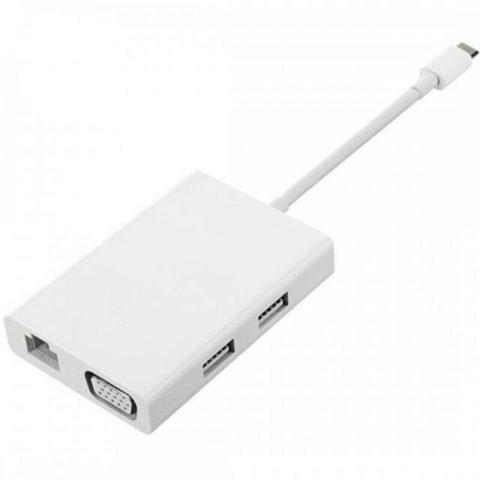 Mi USB-C to VGA and Gigabit Ethernet Multi-Adapter ZJQ04TM JGQ4005TY