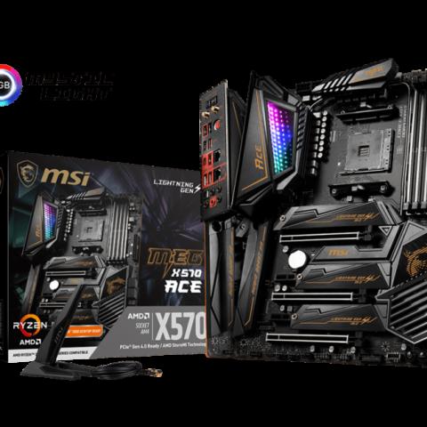 微星MSI MEG X570 ACE 黑金战神 ATX主板