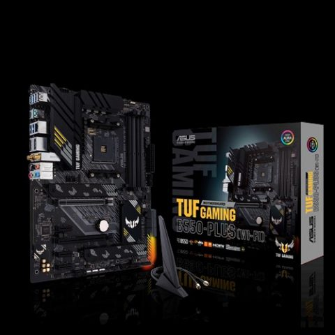 华硕 ASUS AMD TUF GAMING B550-PLUS (WI-FI) ATX主板