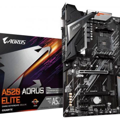 技嘉 Gigabyte A520 AORUS ELITE AM4 ATX主板