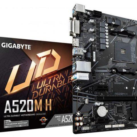 技嘉 Gigabyte A520M H mATX主板
