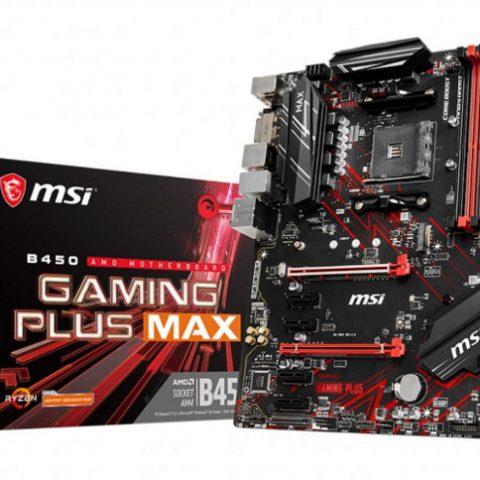 微星 MSI B450 GAMING PLUS MAX ATX主板
