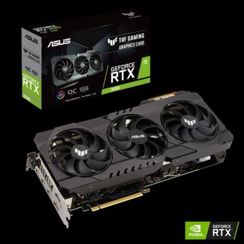 华硕 ASUS Geforce TUF RTX3080 GAMING OC 10G 显卡