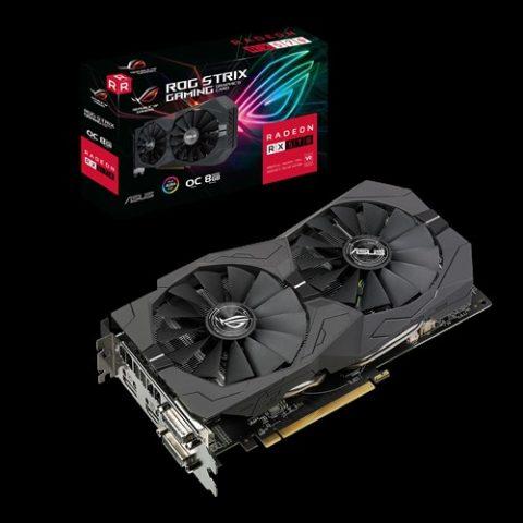 华硕 ASUS AMD ROG Strix Radeon RX570 OC Edition 8GB