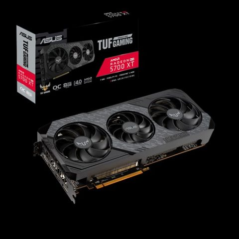 华硕 ASUS AMD TUF 3-RX5700XT-O8G-EVO-GAMING RX5700 XT EVO 8GB 显卡