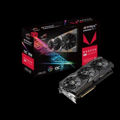 华硕 ASUS AMD Radeon ROG Strix RX VEGA56 OC edition 8GB显卡