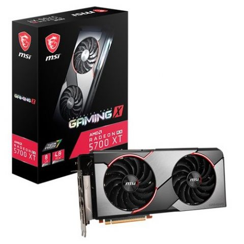 微星 MSI AMD Radeon RX 5700 XT Gaming X  8G 显卡