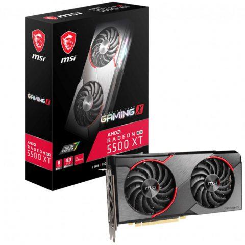 微星 MSI AMD Radeon RX 5500 XT Gaming X 8GB 显卡