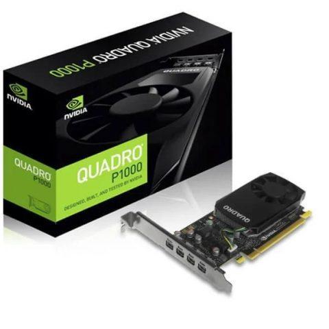 英伟达 NVidia Quadro P1000 4GB 工作站显卡