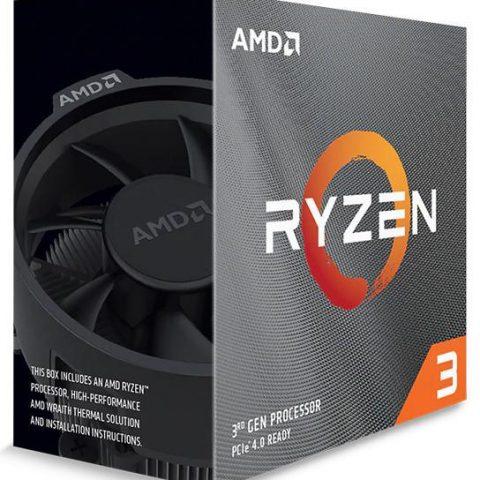 AMD 锐龙3 Ryzen 3 3100 4核8线程 3.9GHz