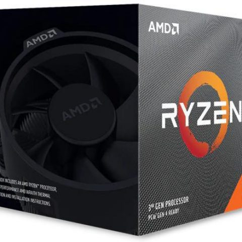 AMD 锐龙5 Ryzen 5 3600XT 6核12线程 4.5GHz