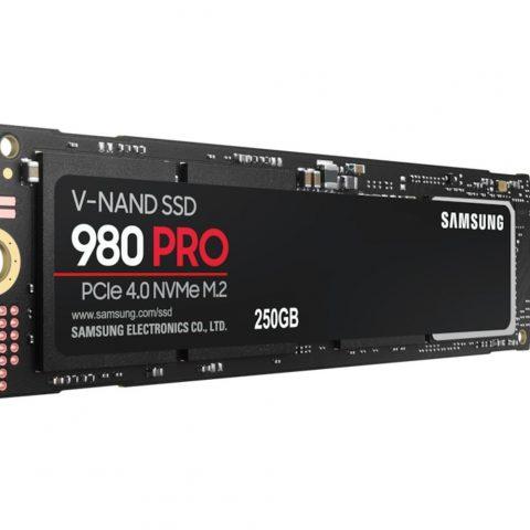 三星 980 Pro 250GB 6400MB/s 2700MB/s