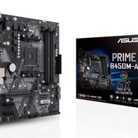 Asus PRIME B450M-A mATX主板