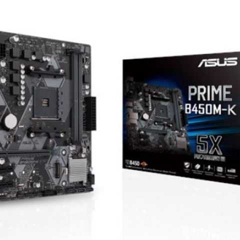 华硕 ASUS PRIME B450M-K mATX主板