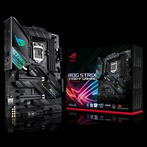华硕 ASUS ROG STRIX Z490-F GAMING ATX主板