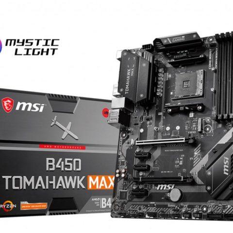 微星 MSI B450 TOMAHAWK MAX ATX主板