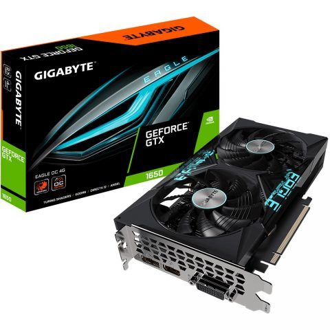 技嘉 Gigabyte GTX 1650 D6 EAGLE OC 4G 显卡