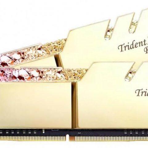 G.Skill Trident Z 皇家戟 F4-3600C19D-32GTRS (2x16GB) DDR4 金色 内存