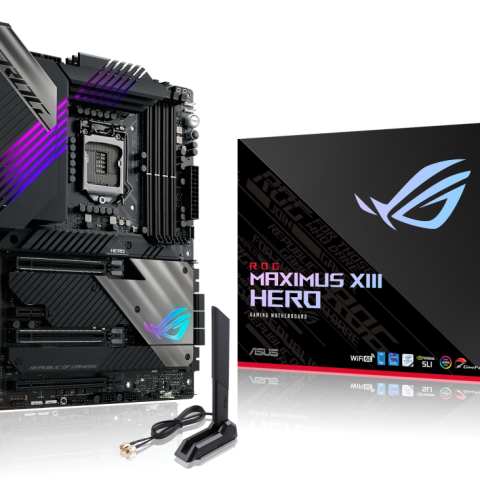 ASUS ROG MAXIMUS XIII HERO Intel Z590 ATX 主板