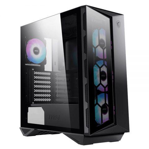 微星 MSI/微星GUNGNIR 氪金枪110R中塔游戏电脑机箱(支持360水冷)台式机水冷主机箱游戏机箱USB3.0侧透ATX大板