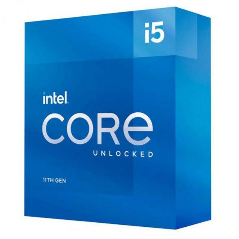 英特尔 i5-11600K CPU 3.9GHz (4.9GHz Turbo) 6核12线程