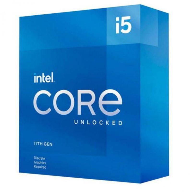 英特尔 i5-11600KF CPU 3.9GHz (4.9GHz Turbo) 6核12线程