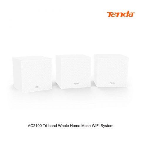 腾达 Tenda AC2100 Tri-Band Whole Home Mesh Gigabit WiFi System