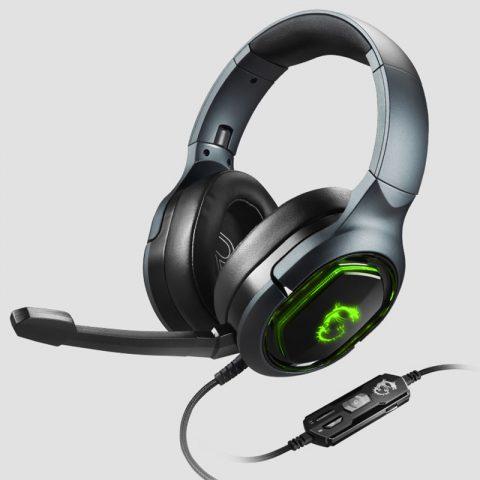 MSI/微星 GH50耳机游戏有线头戴式话筒耳麦