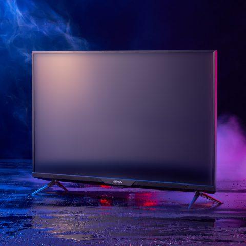 技嘉 AORUS FV43U 43寸 4K 144Hz QLED 电竞显示器