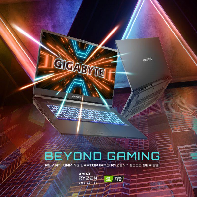 技嘉 游戏笔记本 A7 X1 17.3寸 FHD 144 Hz R9 5900HX RTX 3070