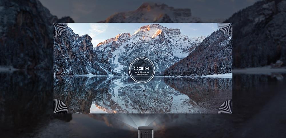 极米 XGIMI光环全高清便携式投影仪 配备安卓电视9.0 WIFI支持4K 3D家庭影院全球版