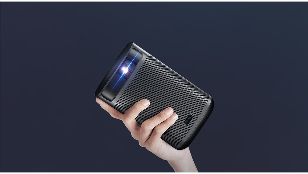 极米 XGIMI Mogo Pro+ 1080P 智能便携式投影仪 配备安卓电视自动键盘校正自动对焦家庭影院投影仪